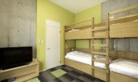 Mizunara Bunk Beds with TV | Lower Hirafu