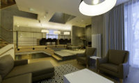 Mizunara Living Area with Wooden Floor | Lower Hirafu