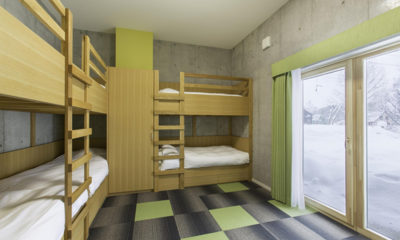 Mizunara Bunk Beds with View | Lower Hirafu
