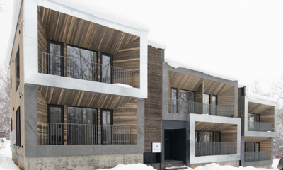 Roku Exterior with Snow | West Hirafu