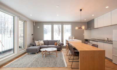 Roku Living, Kitchen and Dining Area with View | West Hirafu