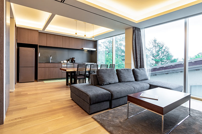 Suishou Living and Dining Area | Upper Hirafu