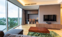 Suishou Living Area with TV | Upper Hirafu