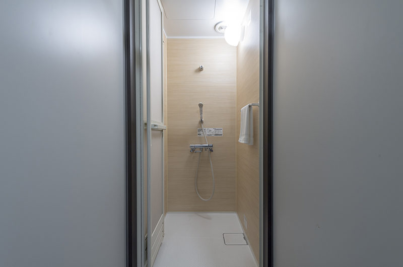 Tsumugi Lodge Bathroom with Shower | West Hirafu