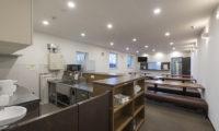 Tsumugi Lodge Kitchen and Common Dining Area | West Hirafu