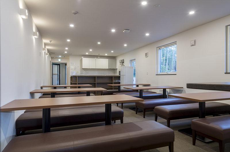 Tsumugi Lodge Common Dining | West Hirafu