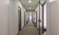 Tsumugi Lodge Corridor with Carpet | West Hirafu