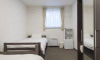 Tsumugi Lodge Single Bed | West Hirafu