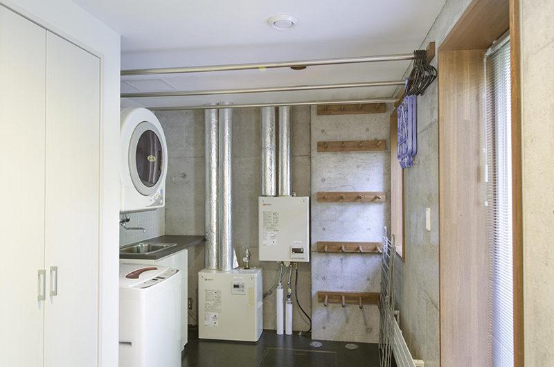 Yuuki Toride Laundry Room | Lower Hirafu