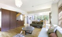 Yuuki Toride Living and Dining Area with Wooden Floor | Lower Hirafu