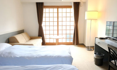 Hakuba Gateway Hotel Bathroom with Seating Area | Happo Village