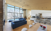 Sakka Rocks Chalet Living, Kitchen and Dining Area | Upper Wadano