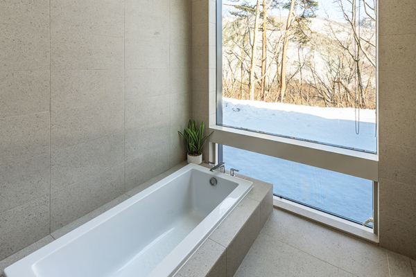 Sakka Rocks Chalet Bathtub | Upper Wadano