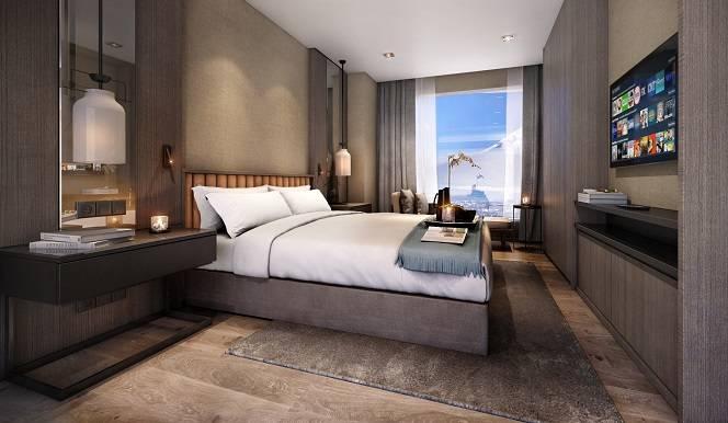 Hinode Hills Bedroom with TV   Niseko Village