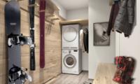 Koa Niseko Laundry Room with Seating Area | Higashiyama