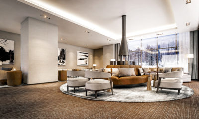 Hinode Hills Living Area | Niseko Village