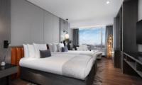 Hinode Hills Twin Bedroom with Mountain View   Niseko Village