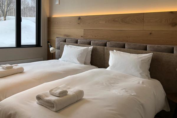 Koa Niseko Twin Bedroom with View | Higashiyama
