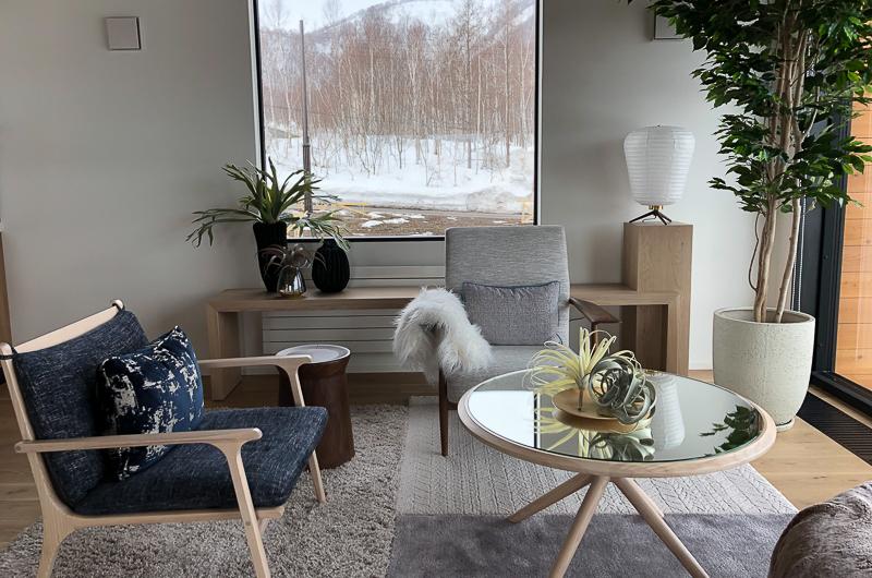 Koa Niseko Seating Area with Center Table | Higashiyama