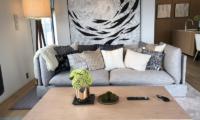 Koa Niseko Sofa with Cushions   Higashiyama