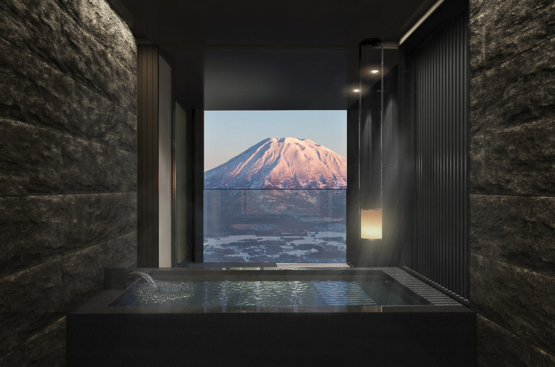 Tellus Niseko Private Onsen with Mountain View | Upper Hirafu