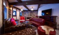 Chalet Hakuba Lounge Area with TV | Upper Wadano
