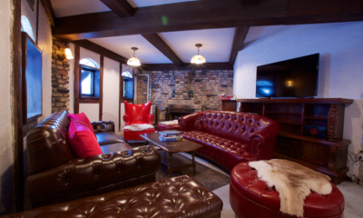 Chalet Hakuba Lounge Area with TV | Upper Wadano