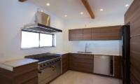 Chalet Hakuba Kitchen Area   Upper Wadano