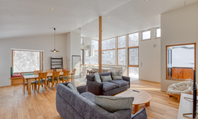 Hokkaidaway Living and Dining Area | West Hirafu