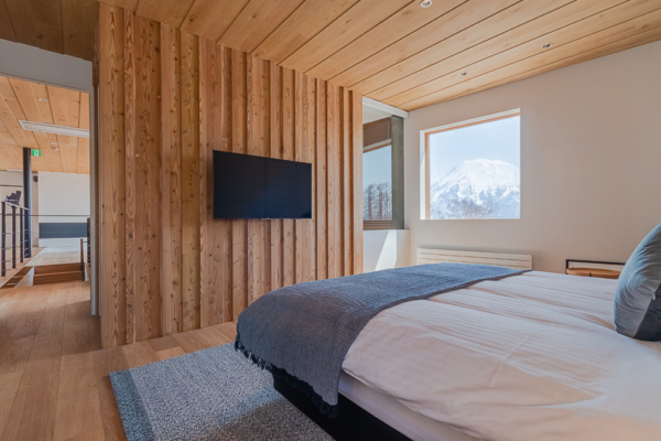Silver Dream Bedroom with Mountain View | West Hirafu