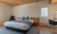 Silver Dream Bedroom with Study Table | West Hirafu