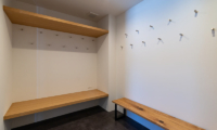 Silver Dream Drying Room with Seating Area | West Hirafu