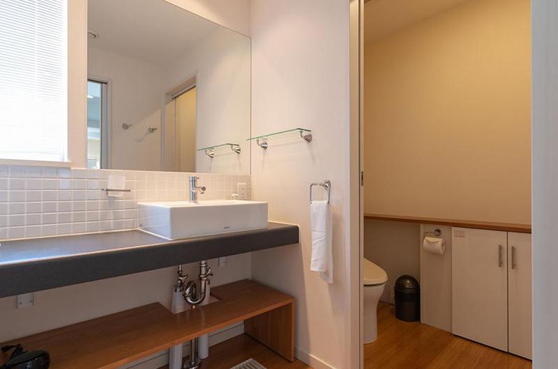 Snow Fox Bathroom with Storage Place | Lower Hirafu