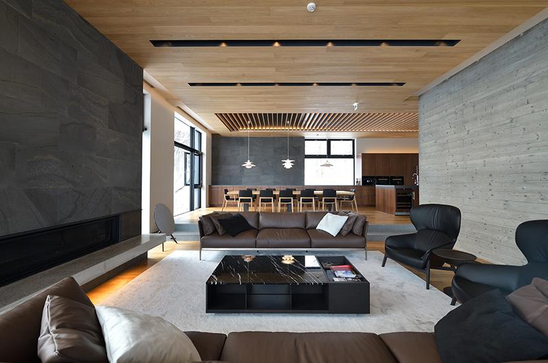 Tsudoi Living Area | East Hirafu