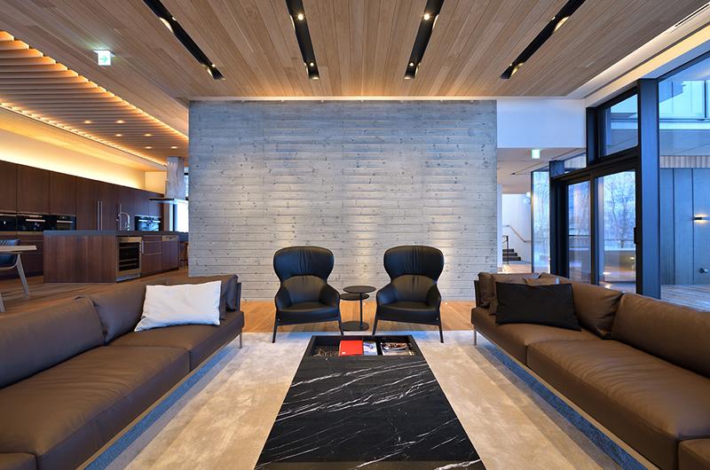 Tsudoi Lounge Area | East Hirafu