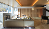 Hachi Living Area with Piano | Upper Wadano
