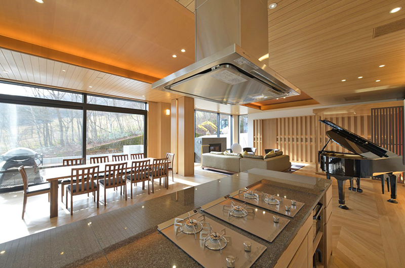 Hachi Kitchen and Dining Area | Upper Wadano