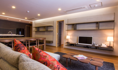 Koharu Resort Hotel & Suites Living and Dining Area with TV | Upper Wadano