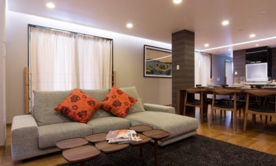 Koharu Resort Hotel & Suites Living and Dining Area | Upper Wadano