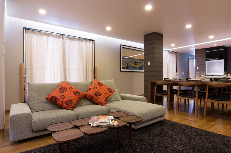 Koharu Resort Hotel & Suites Living and Dining Area | Upper Wadano