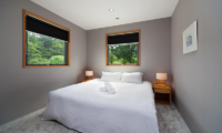 Wagaya Chalet Bedroom with Side Lamps | Happo Village