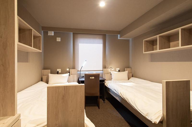 Midtown Niseko Twin Bedroom | East Hirafu