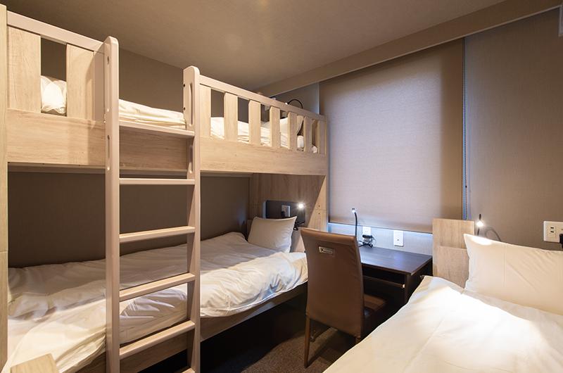 Midtown Niseko Bedroom with Bunk Beds | East Hirafu