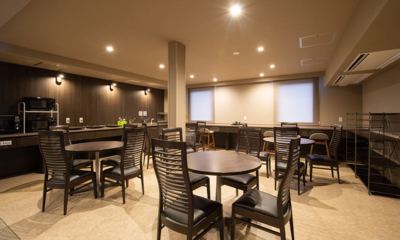 Midtown Niseko Common Dining Area | East Hirafu
