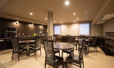 Midtown Niseko Common Dining Area | East Hirafu