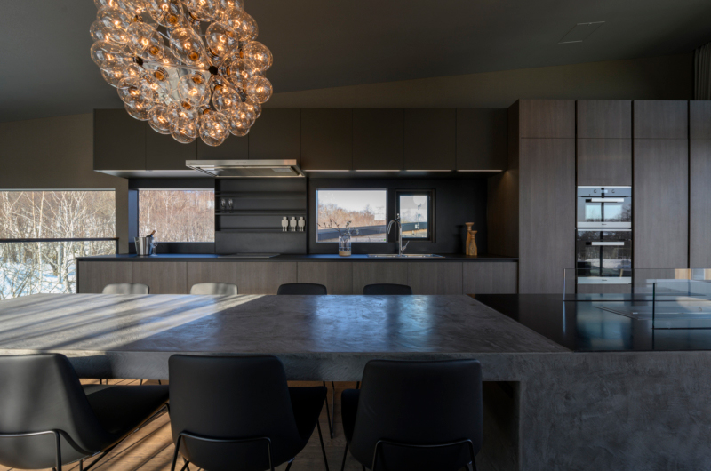 Odile Kitchen and Dining Area | West Hirafu