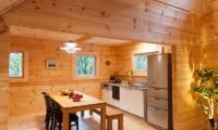 Villa Antelope Hakuba Kitchen and Dining Area with Fruits | Echoland