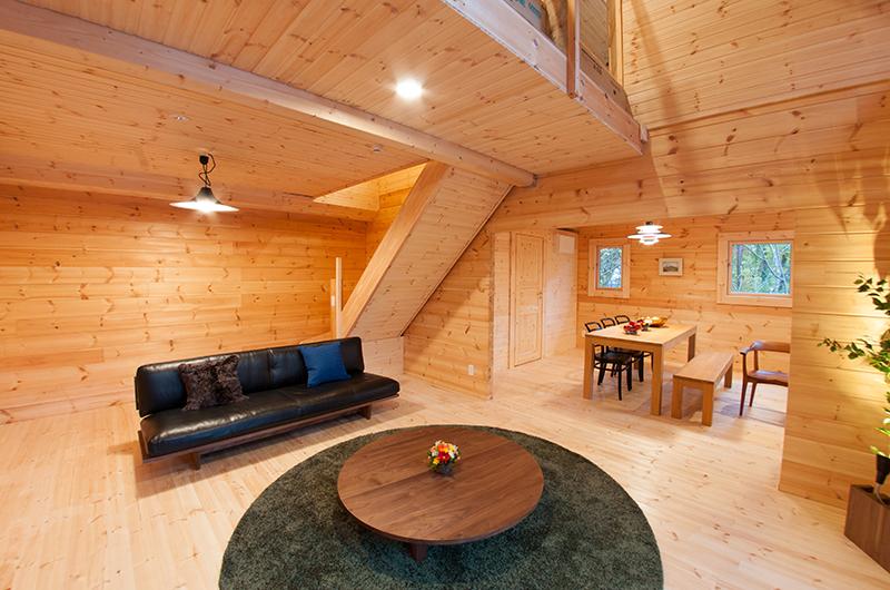 Villa Antelope Hakuba Living Area | Echoland