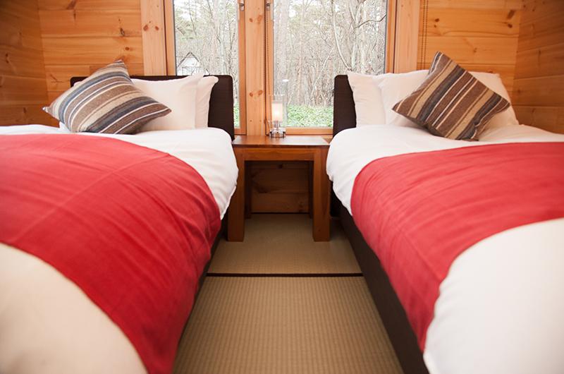 Villa Antelope Hakuba Twin Bedroom | Echoland