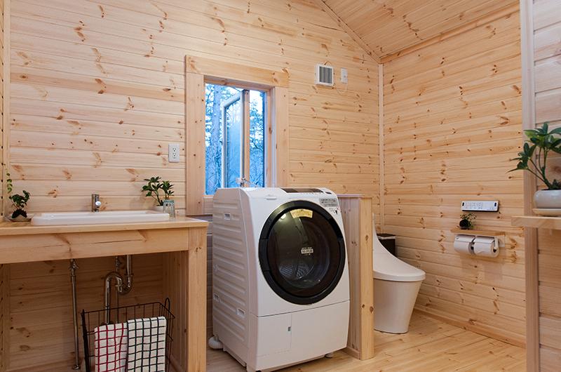 Villa Antelope Hakuba Laundry Room | Echoland